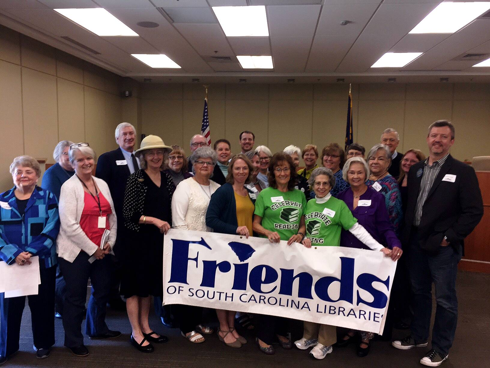 Oconee Friends of the Library at the State Friends of the Library meeting