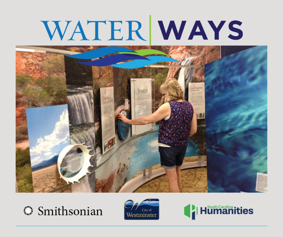 Water Ways exhibit at the Westminster Depot,